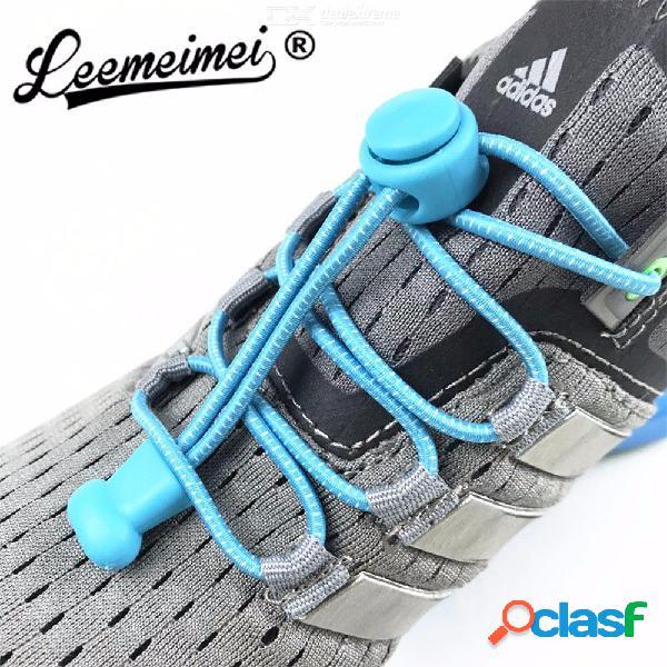 Zapatillas de deporte perezosas con cierre de zapatillas elásticas zapatillas con cordones de seguridad para niños zapatillas de cierre rápido 100 cm