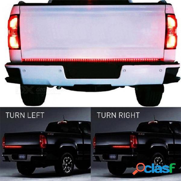 "90led 60 ""rojo / blanco barra trasera led barra de recogida de tira led para señal de giro del freno de marcha atrás para ford dodge ram chevy jeep suv rojo / blanco"