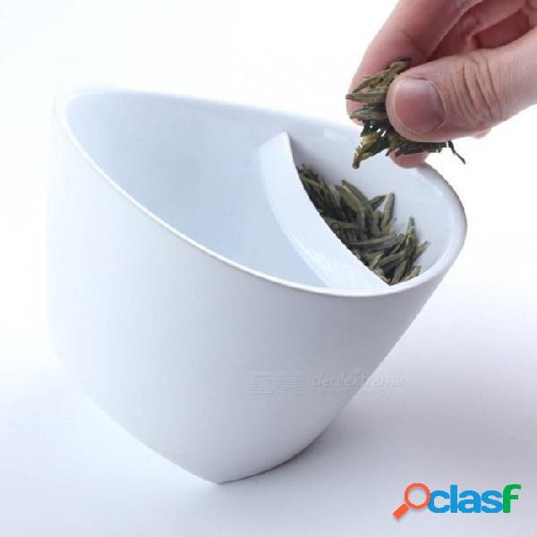 Diseño especial único portátil, inclinación de la taza de té, inclinación personalizada de la taza de té con infusor de té para la oficina en casa