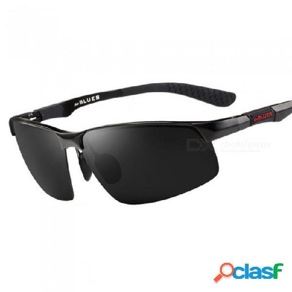 Gafas de sol polarizadas de aluminio y magnesio gafas de pesca masculinas gafas de pesca polarizadas de ocio gafas de sol de paseo