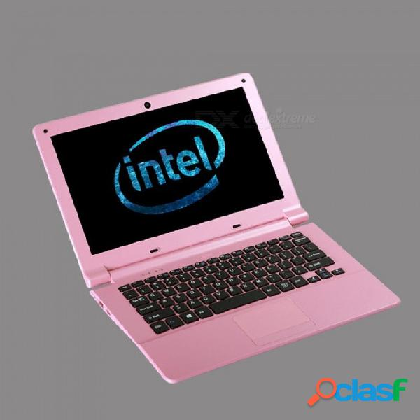 "Quad core 11.6"" windows 8 laptops wifi 802.11 a / b / g pantalla led compatible hdmi 2 * usb2.0 laptop pink"