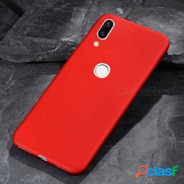 Casos de protección de lujo, resistentes a la suciedad, teléfonos móviles de negocios, cubierta de tpu suave, cubierta completa para lenovo z5 negro / tpu