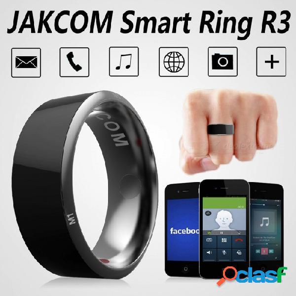 Jakcom r3 smart ring electrónico cnc metal mini anillo mágico con ic / carné de identidad / lector de tarjetas nfc para teléfonos móviles nfc