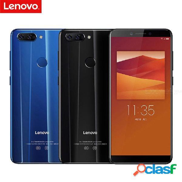 Lenovo k5 k350t teléfono inteligente de 5.7 pulgadas octa núcleo 13mp + 8mp cámaras 3gb ram 32gb rom