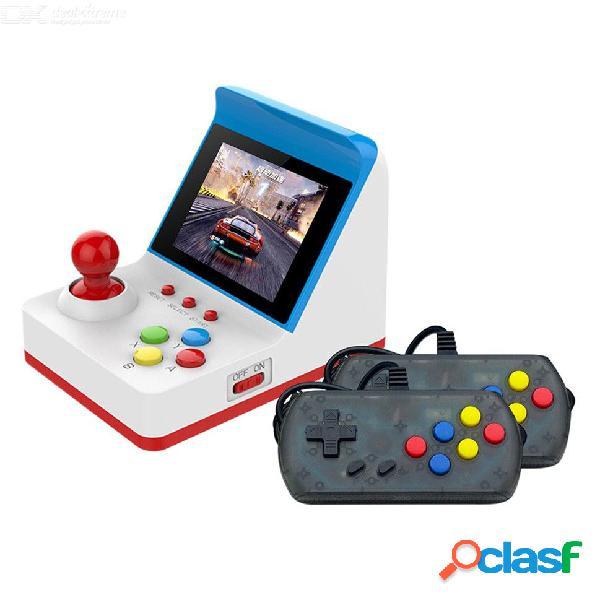 Máquina de juego portátil de consola de juegos de arcade en miniatura retro portátil 3 pulgadas joysticks de pantalla 360 juegos clásicos