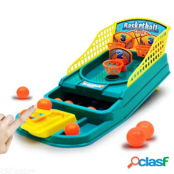 Mini mesa de juego de baloncesto mesa de juego de dedos máquina de disparo con los dedos entre padres e hijos juguetes interactivos