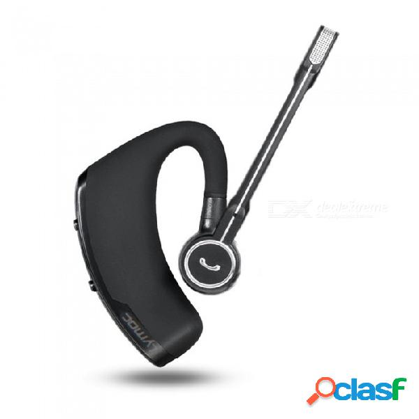 Auriculares bluetooth para negocios v8s, auriculares inalámbricos, auriculares bluetooth v4.1 para automóvil / manos libres mic para iphone xiaomi samsung negro