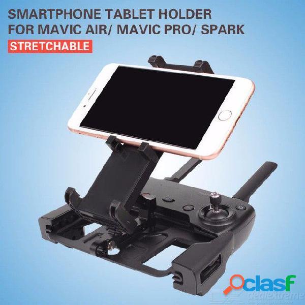 Control remoto teléfono inteligente soporte de soporte de tableta soporte para teléfono móvil de 7-10 pad para dji mavic 2 / aire / pro / s
