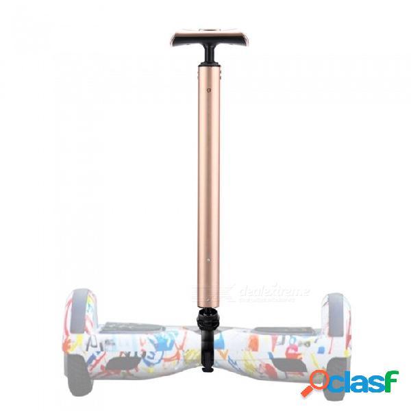 Ctsmart portátil de 6.5 pulgadas 7 pulgadas 10 pulgadas palanca universal del controlador del manillar del coche del equilibrio - dorado