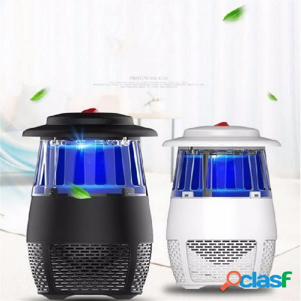 Usb electrónico led mosquito asesino luz 5w trampa de mosquitos de seguridad insecticida matando lámpara para sala de estar dormitorio cocina