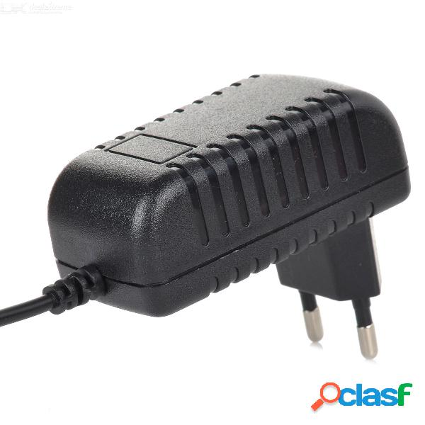 Adaptador de cargador de corriente alterna con cable micro usb para tablet pc / teléfono móvil - negro (enchufe de la ue) / 110240v)