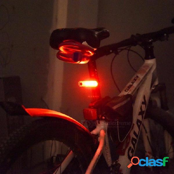 Al aire libre, ciclismo nocturno, bicicleta, luz trasera, lámpara 2835 smd led de advertencia, bicicleta de montaña, lámpara trasera usb recargable