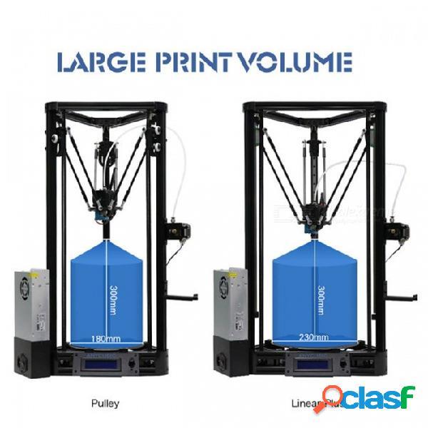 Guía lineal de la versión de la polea de la plataforma de nivelación automática de la impresora anycubic más un kit de bricolaje de impresora 3d de gran tamaño con impresión 3d