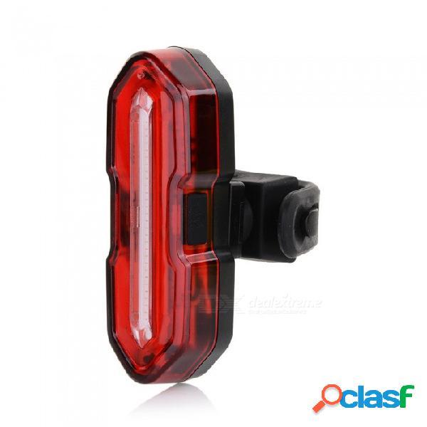 Bicicleta Súper Brillante Con Luz USB Recargable, Bicicleta De Montaña Con Luz De Advertencia De Seguridad LED Creativetaillight