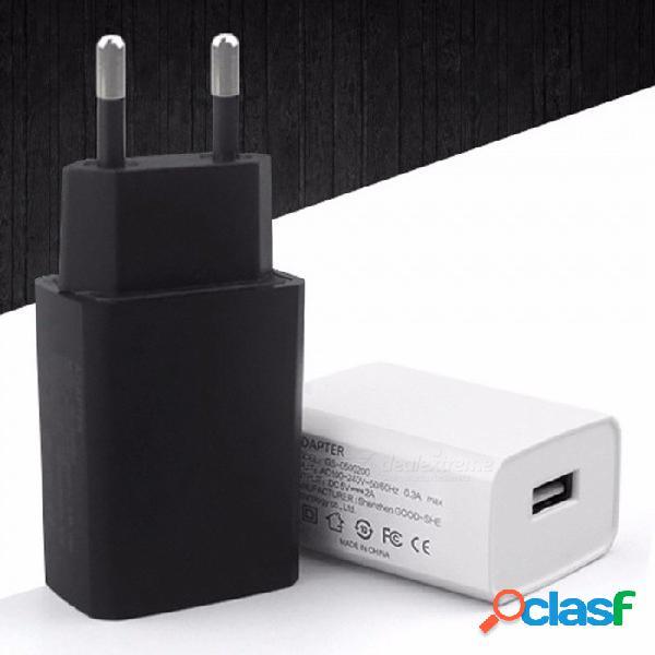 Cargador de teléfono móvil adaptador de carga 2a cargador de teléfono celular cargador usb 5v2a enchufe de la ue adaptador de corriente cargador de pared