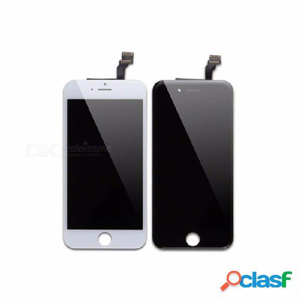 Pantalla capacitiva lcd para el montaje completo del reemplazo del digitalizador de la pantalla táctil de la pantalla iphone 6 plus para iphone 6 plus lcd