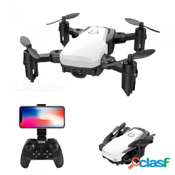 Sg800 rc helicóptero 2.4g wi-fi fpv mini rc quadcopter drone de bolsillo plegable con cámara de gran angular hd 720p 2.0mp - blanco