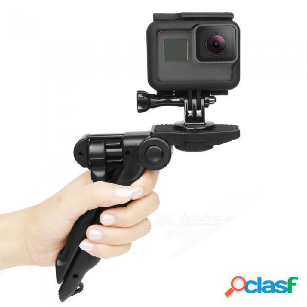 4-en-1 equipo de accesorios de cámara de deportes al aire libre para gopro hero 6/5 / iphone, teléfono, cámara