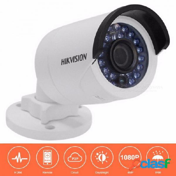 Hikvision ds-2cd2042wd-i cámara ip de seguridad de bala de 4mp con cámara de red poe vigilancia de cámaras de seguridad