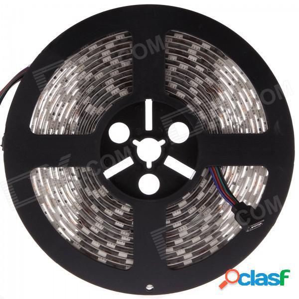 Li-ceci 50w 4500lm 300-smd 5050 led rgb tira de luz a prueba de agua - blanco + transparente (5m / dc 12v)
