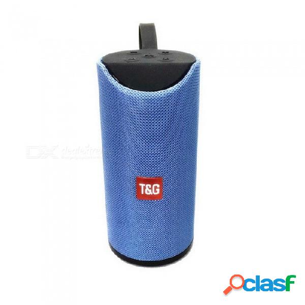 Tg113 mini columna de arte portátil altavoz bluetooth altavoz inalámbrico altavoz bluetooth 10 w aux usb radio fm altavoz de woofer