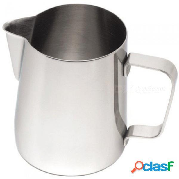 Jarra espumosa de la leche del café del acero inoxidable de zhaoyao, fabricante del latte de la máquina del café express