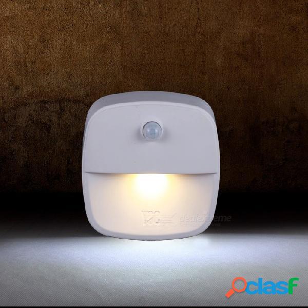 Lámpara de luz nocturna infrarroja con sensor de inducción inteligente de ahorro de energía mini portátil (3 pcs)