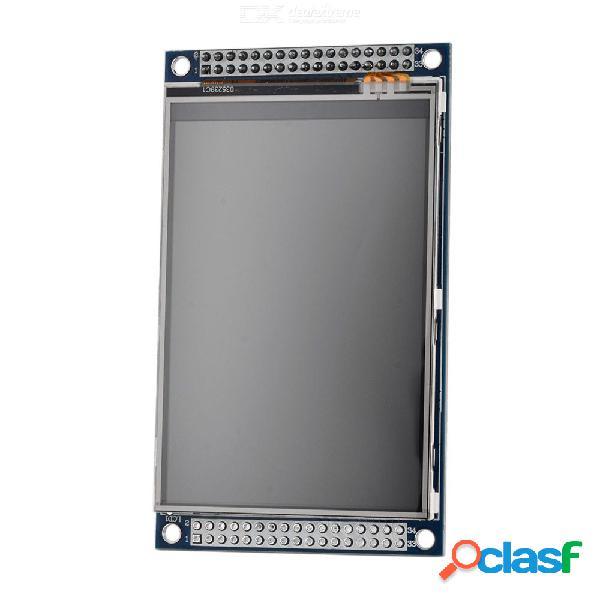 Electrónica inteligente 3.5 pulgadas tft pantalla táctil módulo lcd pantalla 320 * 480 con adaptador pcb 3.5 '' 320x480 para arduino diy kit colorido