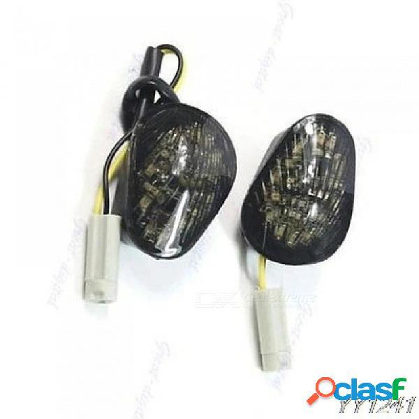 Luces de señal de montaje empotrables led yzf r6 r1 2008 2007 2006 2005 2004 para yamaha para 1 par de 1,7 cm de espesor a