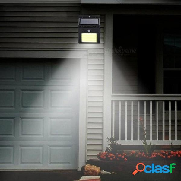 48 led luz solar infrarrojo humano pir sensor de movimiento lámpara de pared seguridad iluminación exterior impermeable ip65 lámpara de jardín para vía 48 led