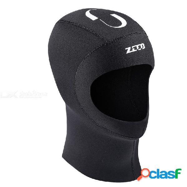 Gorra de buceo de neopreno impermeable de neopreno impermeable para traje de neopreno de 5 mm para practicar el esnórquel