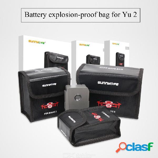 Estuche de almacenamiento seguro de la batería para la batería lipo a prueba de explosiones para dji mavic 2