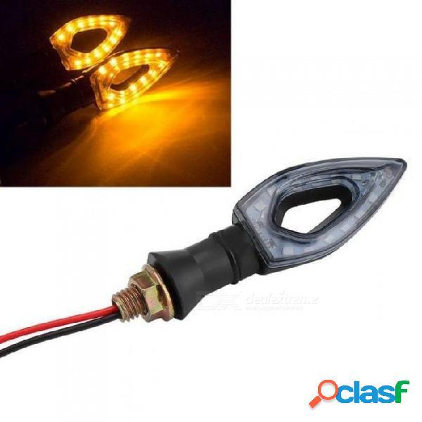 1 unidades 12 led señal de giro motocicleta intermitentes luz led luces traseras indicadores para moto moto accesorios de motocicleta 1 unids