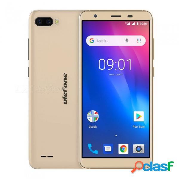 Ulefone s1 android 8.1 mtk6580 3000 mah batería tarjeta sim dual de 18,5 pulgadas teléfono 18: 9 3g con 1gb de ram rom de 8 gb