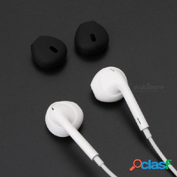 2 pares de auriculares de silicona en la oreja los auriculares de los auriculares cubren con gancho para el oído para apple airpods iphone 7 6 6s plus 5 5s se earpods