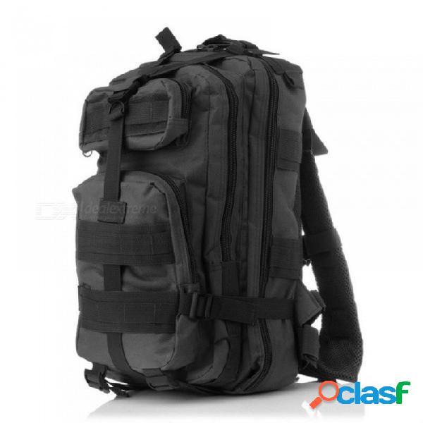 Mochila camo hombres mochila de viaje multifunción impermeable militar mochilas de gran capacidad mochila portátil mochila negro pitón
