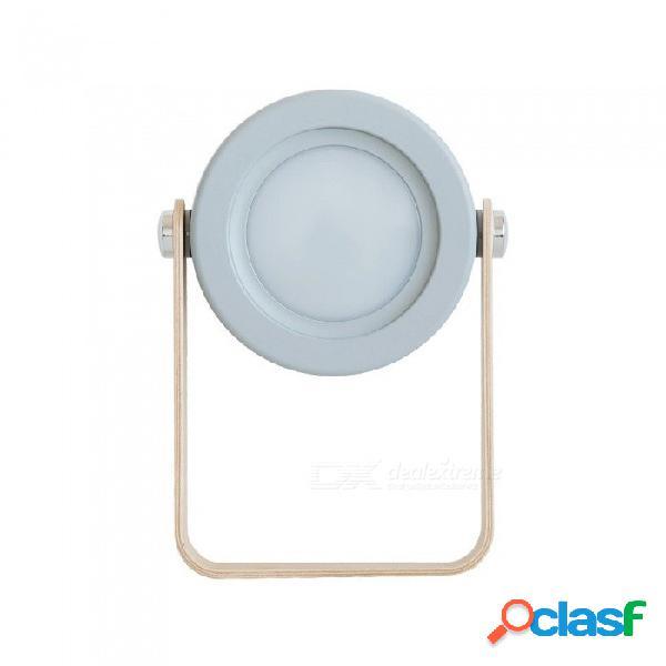 Linternas led portátiles de emergencia multifunción mini usb lámpara de mesa recargable luces de noche retráctiles blanco cálido / blanco