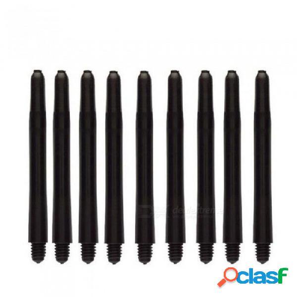 20 unids / 50 unids / 100 unids un montón de dardos de nylon ejes 2ba 48mm hilo de rosca de plástico dardos dardos varilla dardos accesorios 20 unids