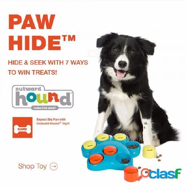 Juguetes para perros juguetes para perros interactivos para bebés, juguetes para entrenar a los perros, juegos de patas de rodillos, perros que comen lentamente, mascotas, juguetes, 20.5 * 4