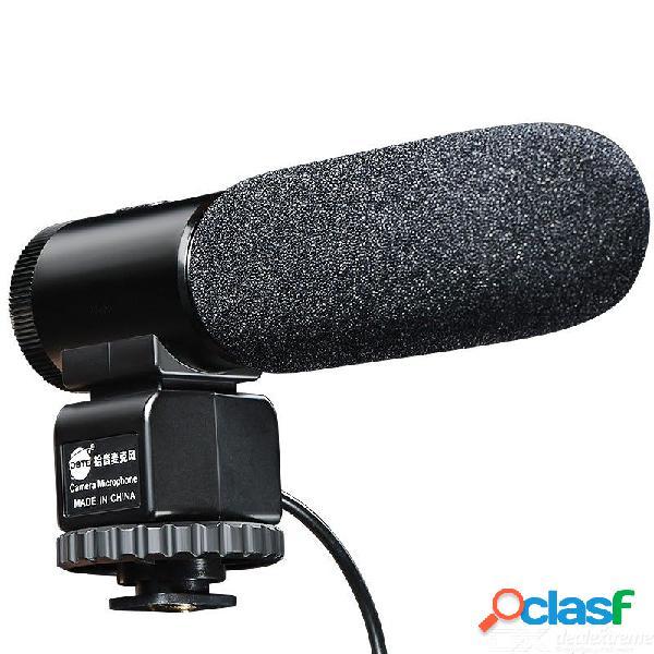 Dste db113 entrevista en cámara micrófono para canon eos 6d mark ii 800d 1dx mark ii nikon d810 d7200 d610 d3500