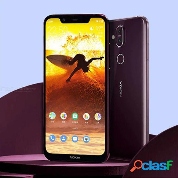 Nokia x7 4g phablet 6gb ram 64gb rom 12.0mp + 13.0mp cámara trasera sensor de huellas digitales 3500mah teléfono inteligente