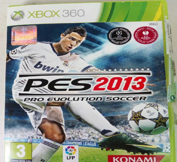 2013 pro evolution soccer xbox 360 pal