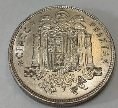 5 pesetas de 1949