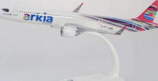 Avión airbus a321 arkia herpa 1:200