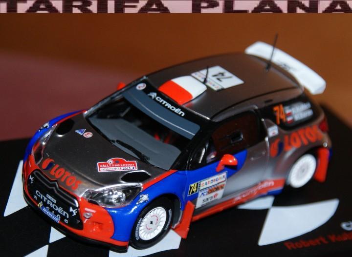 Citroen ds3 wrc rallye de italia sardegna 2013 robert kubica