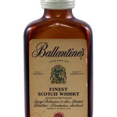 Coleccionismo. botellin ballantines
