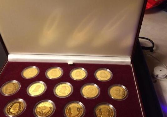 Coleccion monedas arras reales