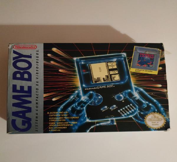 Consola game boy nintendo 1989 incluye 2 juegos