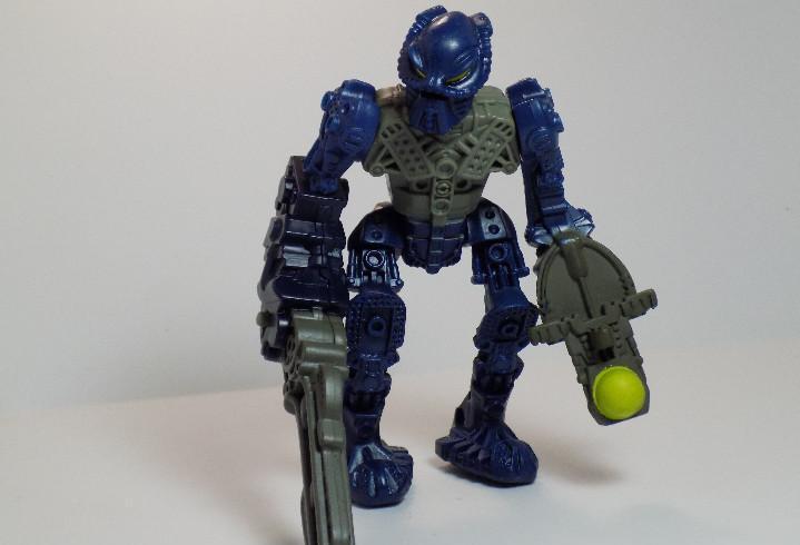 Figura de plastico lego bionicle 2007 mc. donalds