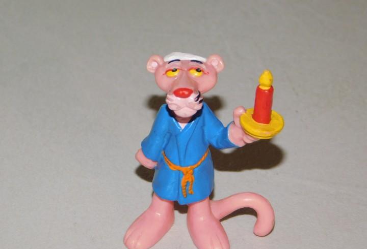 Figura de pvc *la pantera rosa* mide 6 cm al. united artist